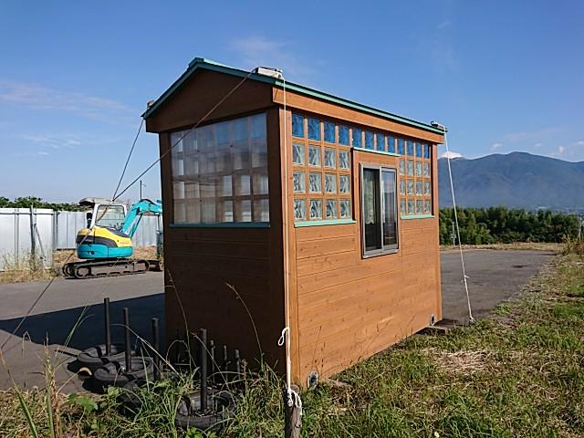 移動式 木造ユニットハウス