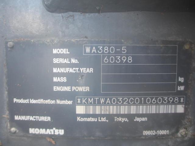 WA380-5